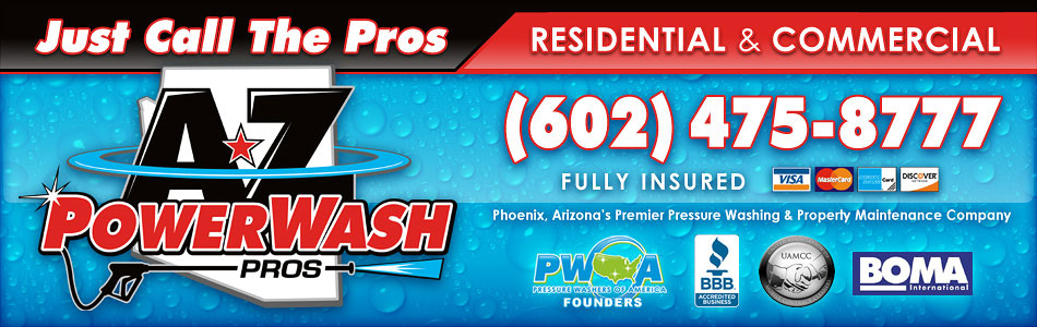 About Az Power Wash Pros Arizona S Pressure Washing Company